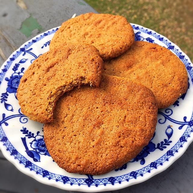 Grain free almond butter cookie recipe