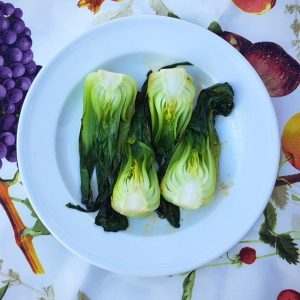 Sauteed Bok Choy Low Fodmap Recipes Nutrition By Erin