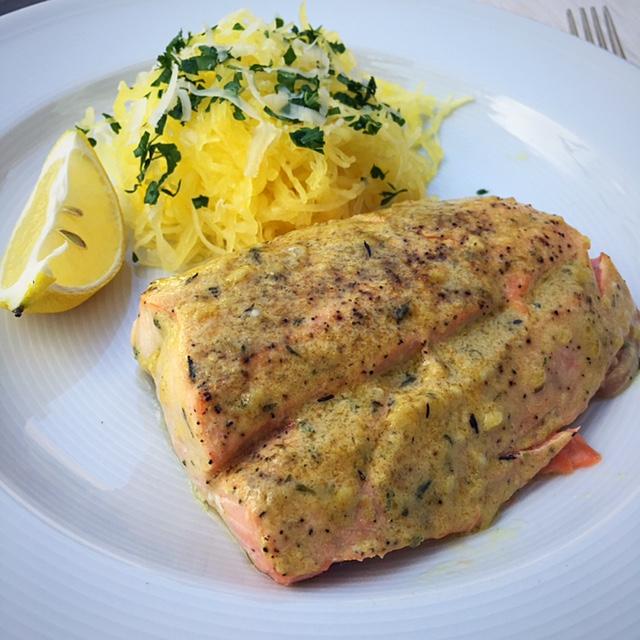 Mustard Herb Salmon