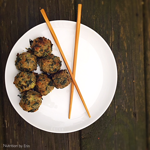 kale meatballs