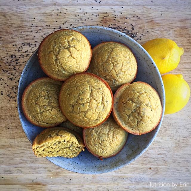 Gluten Free Lemon Muffin_bowl